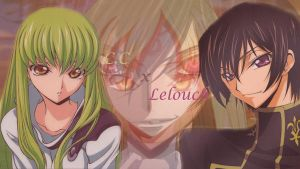 C.C x Lelouch by black--rebellion
