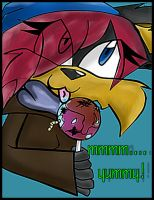 Lollipop:mmm...yummy by KaleythefOxkizZdaRkz