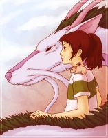 Spirited Away by aiimeii