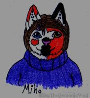 Miho Bust by KibaTheDemonicWolf