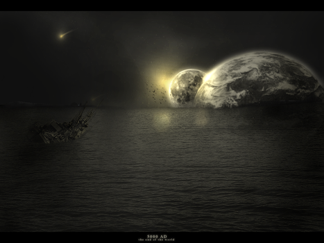The end of the world by cortezART