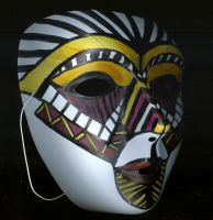 African Theatre Mask by Charis
