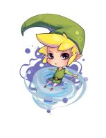 Link from The Wind Waker by Pikatoro