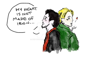 My heart is not made of iron by BibiPoison