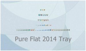 Pure Flat 2014 Tray by alexgal23