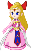 Princess Zelda - Four Swords by Doctor-G
