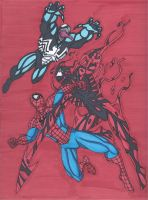 Maximum Carnage Tribute Part 1- The Battle Begins by RobertMacQuarrie1