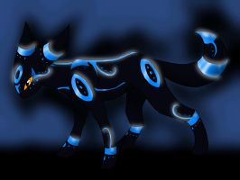 Legendary form of Umbreon by Loumun-Versen