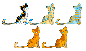 Kittens for Sylphid14 by AmzyTheChangeling