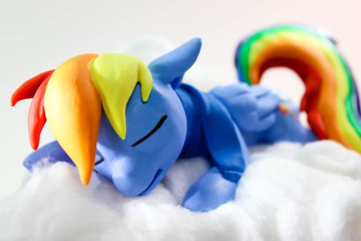 Caught Napping 1 by dustysculptures