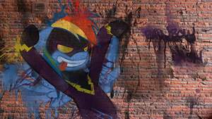 Rainbow Graffiti Wallpaper by aruigus808