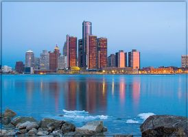 Detroit, On the rocks... by DocZ65