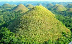 Chocolate Hills by iammillerdejose
