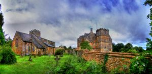Chastleton House and Church by s-kmp