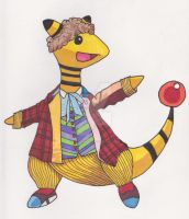 Doctor Ampharos by AlPendragon