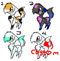 name your price adopt cats (starting at 10 points) by Deep-Fried-Love