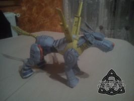 Digimon MetalGarurumon Papercraft Body+Legs by HellswordPapercraft