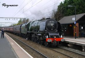 LMS 46233 'Duchess of Sutherland' at Aston by The-Transport-Guild