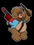 Evil Dead Ash care bear by yayzus