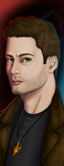 Supernatural - Dean Winchester Bookmark by CubicInsanity