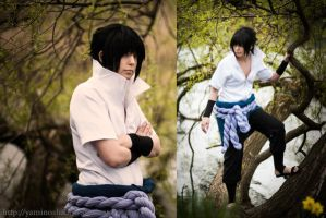 Sasuke Uchiha dark down by YamiNoShadow