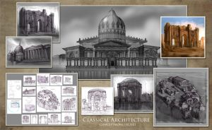 Classical Architecture Comp by AlexRuizArt
