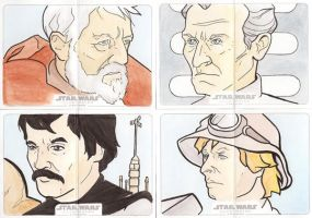 Star Wars Illustrated: A New Hope Set 3 by Tyrant-1