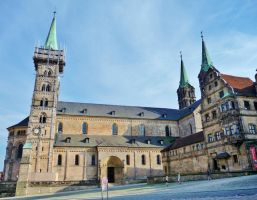 Bamburg Cathedral by cactusmumkate