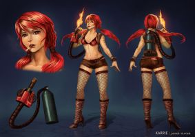Karrie Turnaround by jasonwang7