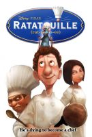 SOTM-Ratatouille Movie Poster by froggiechan