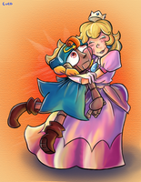 Geno n Peach by Loopy-Lupe