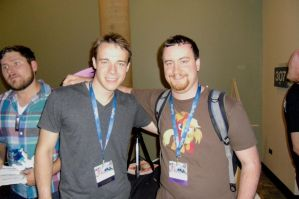 BronyCon 2014: Me and BlackGryph0n! by AleximusPrime