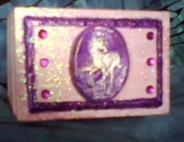 Unicorn mini box by aradia1015