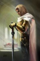 Jaime Lannister. A Song of Ice and Fire by NickKalinin