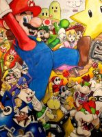 Super Mario Party! by thezoemonster