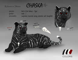 Reference Sheet - Chaska by Gaia-Arts