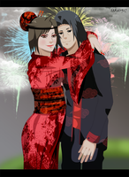 Comission points :  Itachi and Yuki by Sarah927