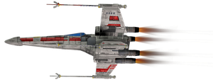 X Wing 2,4 by Cyborgerotica