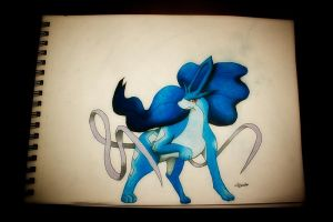 Shiny Suicune by NChicaGFX