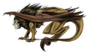.: Manticore :. by Dark-Skadia