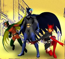 G Force goes Gotham Finest by Rene-L