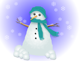 snowman by omagrandmother