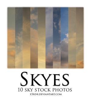 Skyes stock pack by FrantisekSpurny