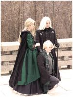 Malfoy Family Portrait by anda-chan