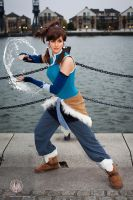 The Legend of Korra - Waterbending by faramon