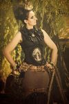 under a tree...            WGT Steampunk by S-T-A-R-gazer