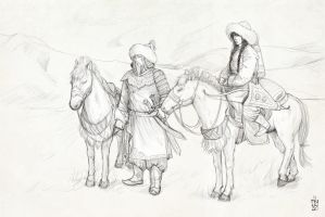 Mongolian SessKag by janey-jane