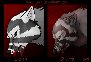 2011 VS 2013 by Kiuuki
