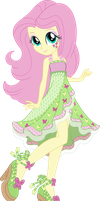 Legend of Everfree Boho Fluttershy Vector by icantunloveyou
