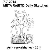 META RotBTD 2014 Daily Sketch 7-7 by veekaizhanez